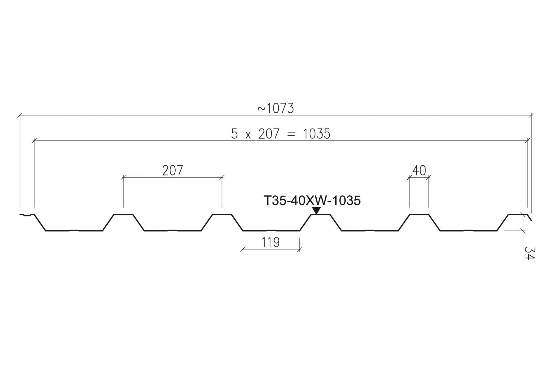 Ruukki Profil T35