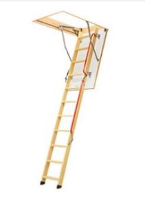schody z drewnianą drabinką LWL Plus